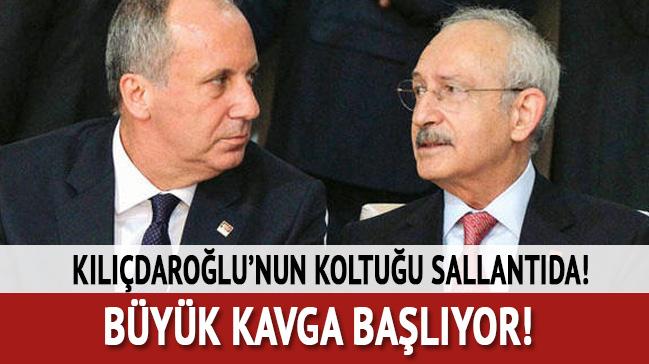 Kılıçdaroğlu'nun koltuğu sallantıda! Büyük kavga başlıyor...