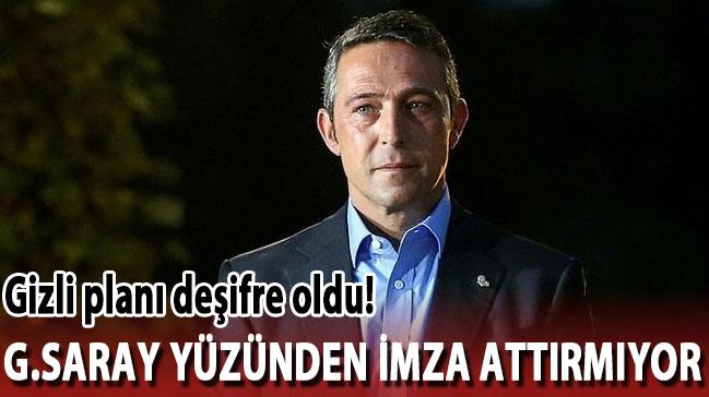 Yıldız futbolcuya G.Saray yüzünden imza attırmıyor