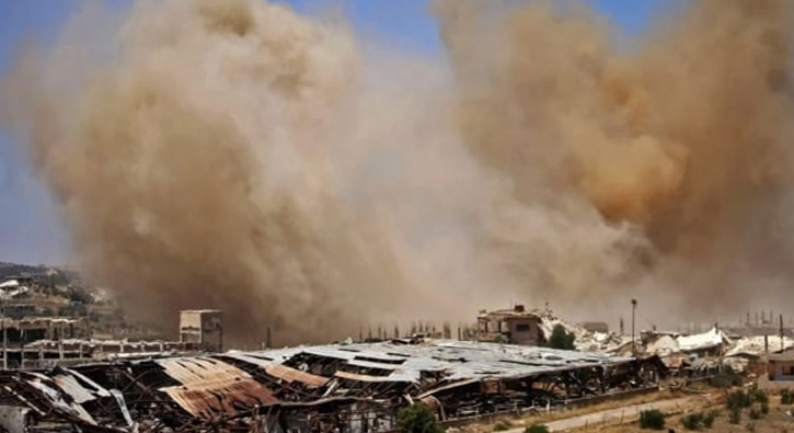Suriye%E2%80%99de+Esed+rejiminin+hava+sald%C4%B1r%C4%B1lar%C4%B1+devam+ediyor