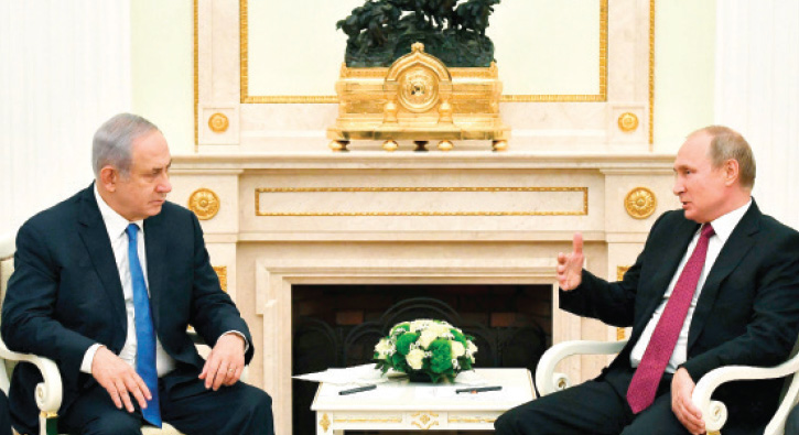 Netanyahu+Putin'den+%C4%B0ran%E2%80%99%C4%B1+kopartt%C4%B1+