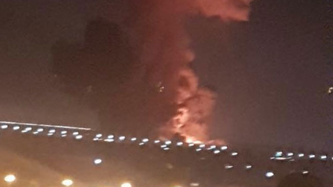 Kahire%E2%80%99de+yak%C4%B1t+depolama+tesisinde+patlama