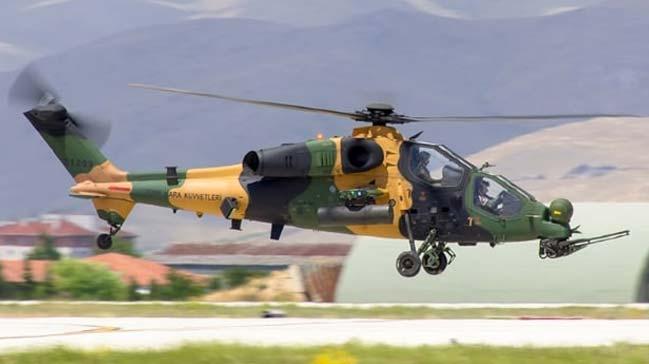 T129 ATAK Helikopteri Farnborough'da gösteri uçuşu yapacak