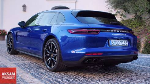 Porsche Panamera ailesine yeni üye