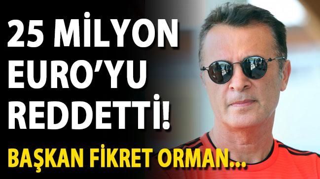 Beşiktaş 25 milyon Euro'luk teklifi reddetti