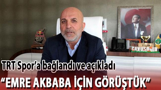 TRT Spor'a bağlandı ve açıkladı! 'Evet Emre için görüştük'
