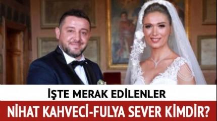Nihat Kahveci eşi Fulya Sever kimdir, kaç yaşında? Nihat Kahveci evlendi!