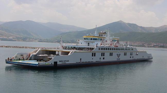 Türkiye'nin en büyük ikinci feribotu ilk deneme seferine çıktı