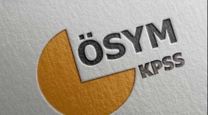 KPSS lisans alan bilgisi sınavlarının ilk iki oturumu sona erdi
