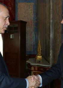 Erdoğan, Aissami'yi kabul etti