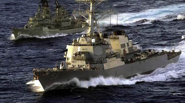 Suriye'deki hedefleri vuran Rus fırkateyninden ABD denizaltısına Akdeniz'de sıcak takip