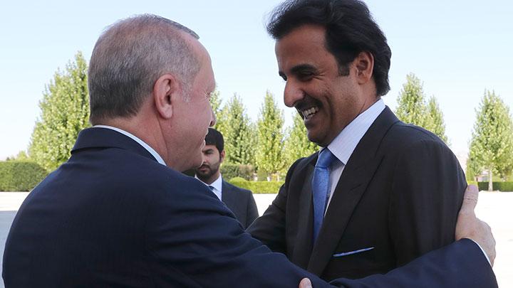 Katar Emiri Al Sani: Ümmetin sorunları ve Katar'ın yanında duran Türkiye'nin yanındayız