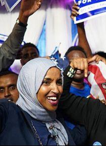ABD'de Somalili Müslüman kadın aday kongre ön seçimini kazandı