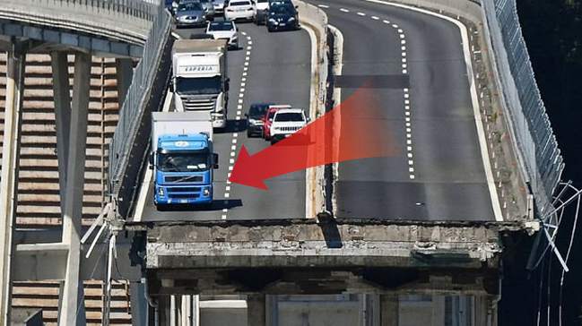 Köprü faciasından kurtulan kamyon şoförü konuştu