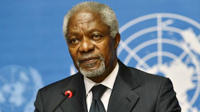 Kofi Annan hayatını kaybetti