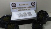 Gaziantep'te 75 kilogram esrar ele geçirildi