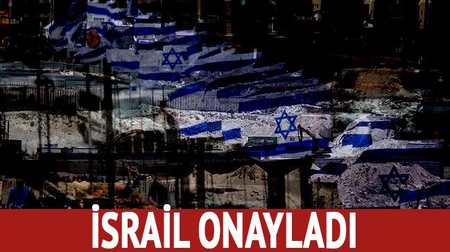 İsrail, Batı Şeria'daki Yahudi yerleşim biriminin genişletilmesini onayladı