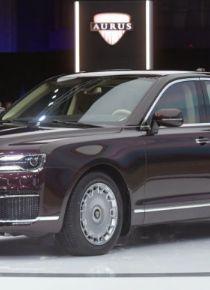 Rusların yerli ve zırhlı otomobili Aurus Senat tanıtıldı