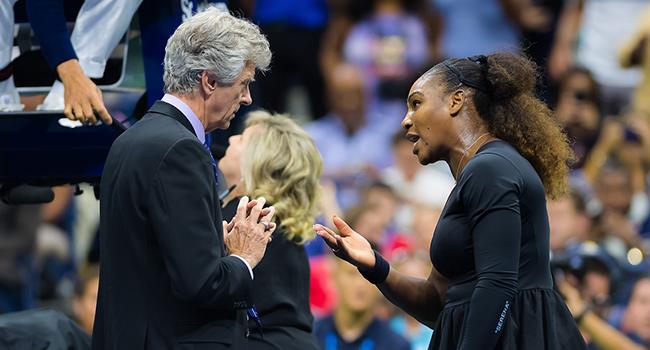 Serena Williamsa 17 bin dolar ceza