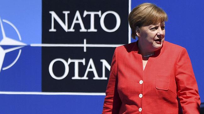 Merkel NATO'yu uyardı: Güçlenmemiz lazım