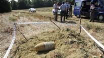 Çanakkale'de Gelibolu Yarımadası'nda bulunan patlamamış top mermisi, jandarma ekiplerince imha edildi.