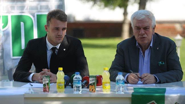 Bursaspor'da 4 yıllık imza!
