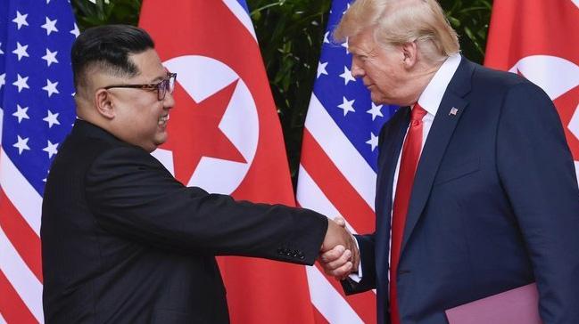 ABD+Ba%C5%9Fkan%C4%B1+Trump:+Yak%C4%B1n+zamanda+Kuzey+Kore+lideri+Kim+ile+g%C3%B6r%C3%BC%C5%9Fece%C4%9Fim
