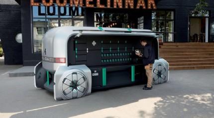 Renault'dan kişiye özel teslimat yapabilen robot otomobil