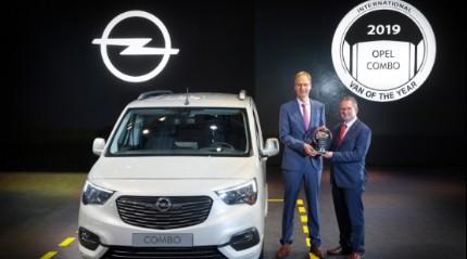 2019 Yılın Ticari Aracı Ödülü yeni Opel Combo'nun oldu