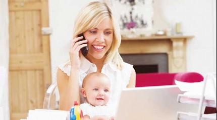 Kadınlar hem çocuğunun hem işinin başında olacak