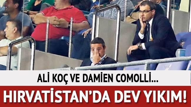Başkan Ali Koç  Hırvatistan'da yıkıldı!
