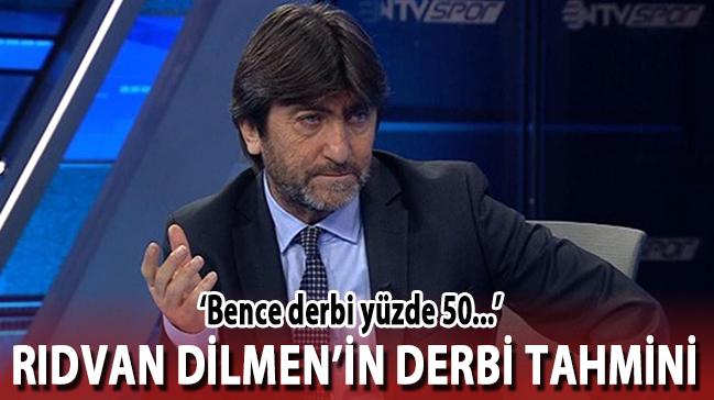 Rıdvan Dilmen'in derbi tahmini! 'Bence derbi...'