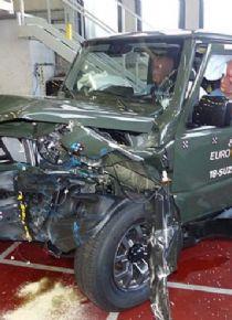 Yeni Suzuki Jimny Euro NCAP'te hayal kırıklığı yarattı!