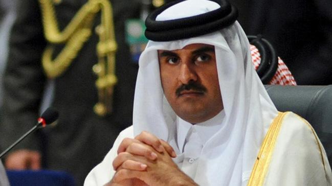 Katar+Emiri+Sani:+Katar+ablukas%C4%B1+K%C4%B0K+%C3%BClkelerinin+itibar%C4%B1n%C4%B1+zedeliyor