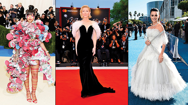 Hollywood starlarının kırmızı halı tercihleri