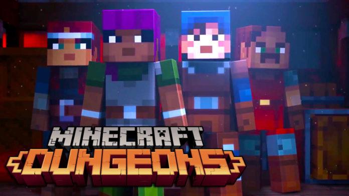 Minecraft+Dungeons+PC+i%C3%A7in+duyuruldu
