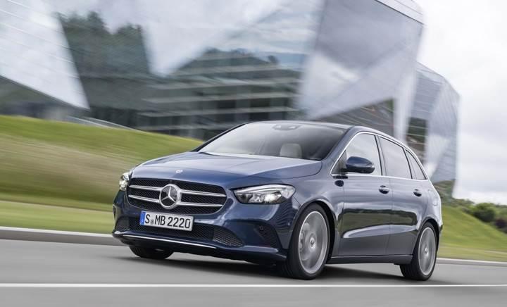 2019+Mercedes+B+Serisi+tan%C4%B1t%C4%B1ld%C4%B1;+s%C4%B1n%C4%B1f%C4%B1n%C4%B1n+en+aerodinamik+otomobili