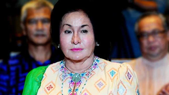 Malezya%E2%80%99daki+yolsuzluk+soru%C5%9Fturmas%C4%B1nda+Rosmah+Mansor+tutukland%C4%B1