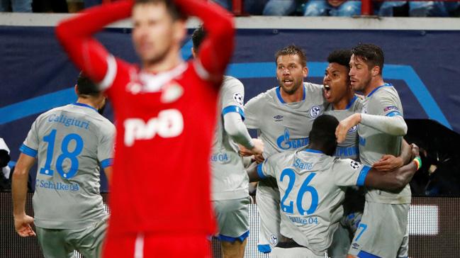 Schalke+deplasmanda+Lokomotiv+Moskova%E2%80%99y%C4%B1+1-0+ma%C4%9Flup+etti