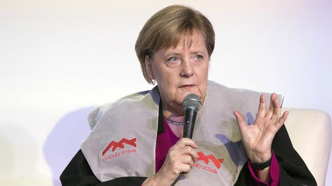Merkel:+%C4%B0srail%E2%80%99le+hemfikiriz