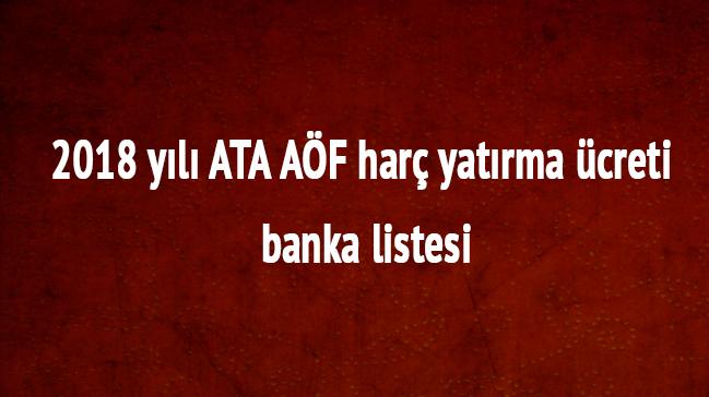Aöf Ders Seçimi 2019: Atatürk Üniversitesi 2018 ATA AÖF LMS Kayıt Ders Seçimi