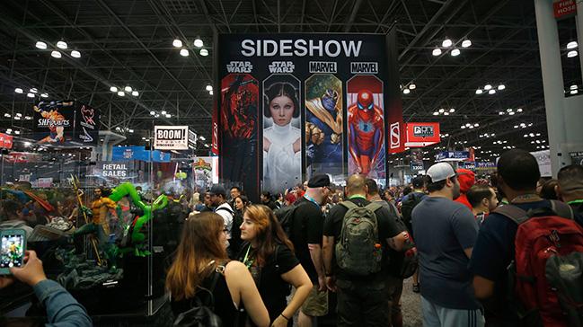 New Yorkta popüler kültür etkinliği Comic Con başladı
