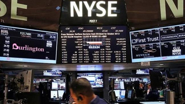New+York+borsas%C4%B1+y%C3%BCkselen+tahvil+faizleriyle+geriledi