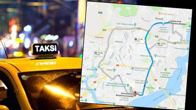 10+kilometrelik+mesafeye+213+TL+alan+taksici+mahkemelik+oldu
