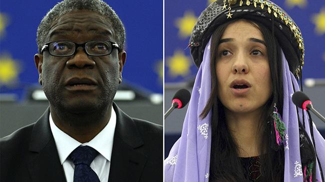 Nobel+Bar%C4%B1%C5%9F+%C3%96d%C3%BCl%C3%BC%E2%80%99n%C3%BCn+bu+y%C4%B1lki+sahibi+Doktor+Denis+Mukwege+ve+Ezidi+aktivist+Nadia+Murad+oldu