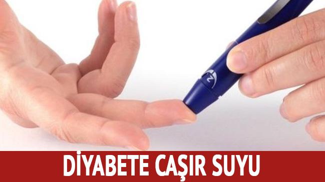 Diyabete caşır suyu ilaç oluyor