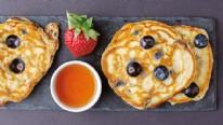 Yaban Mersinli Pancake