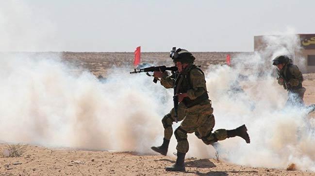 Mısır-Rus askeri tatbikatı başladı