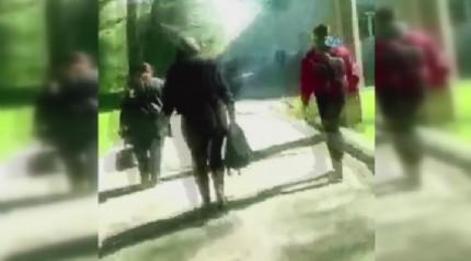 Üniversiteye düzenlenen saldırının görüntüleri ortaya çıktı