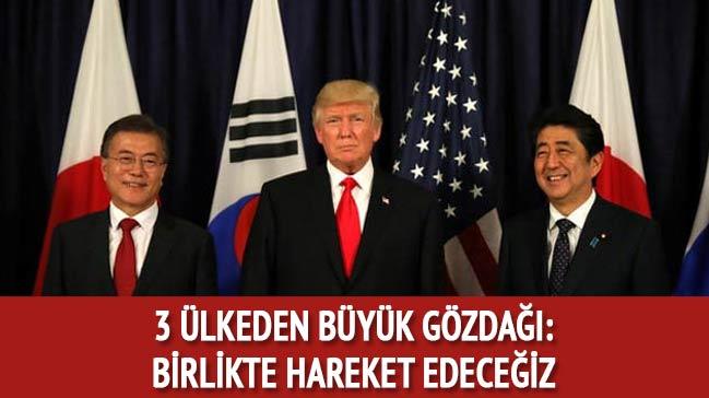 Üç ülkeden büyük gözdağı: Birlikte hareket edeceğiz!
