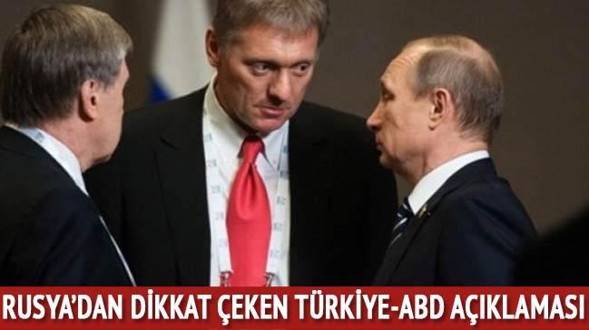 Rusya'dan dikkat çeken Türkiye-ABD açıklaması!
